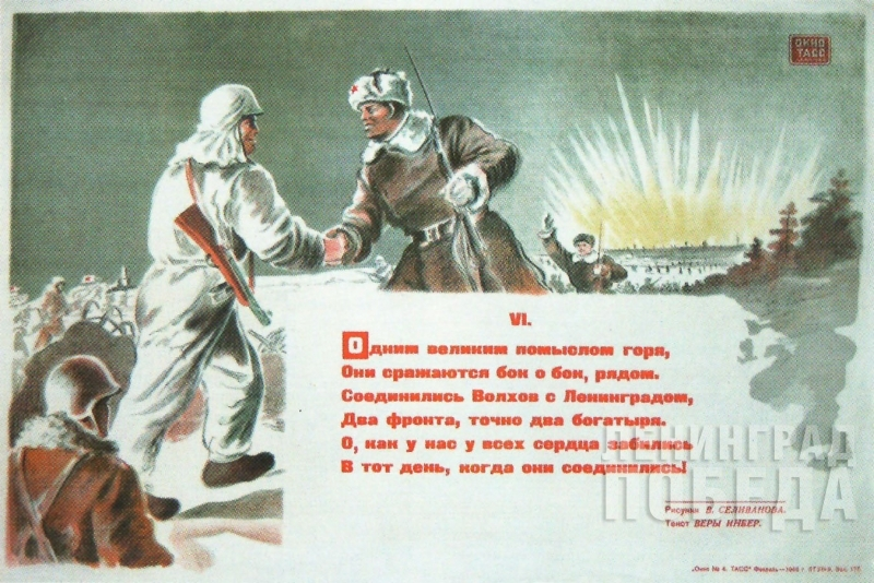 Блокадный ленинград в открытках