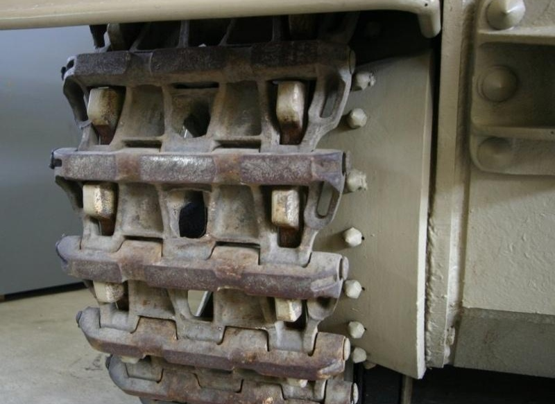 трак от немецкого танка фото отпуска