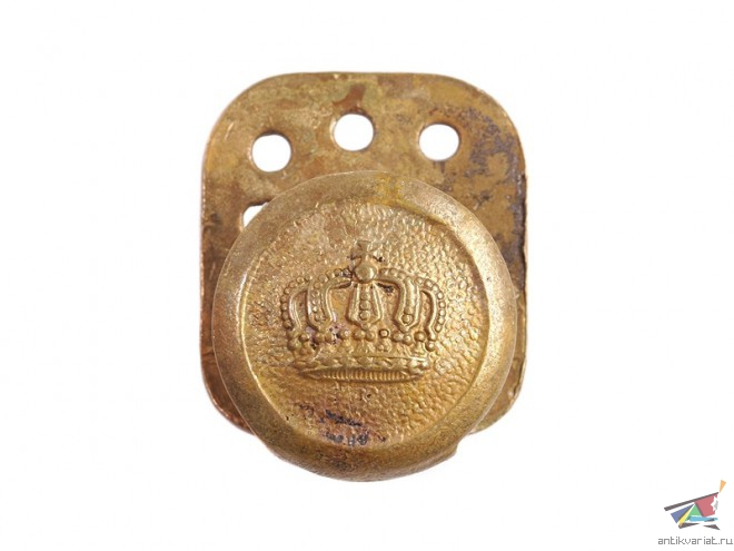копатель пуговицы антанты пруссия корона термобелье