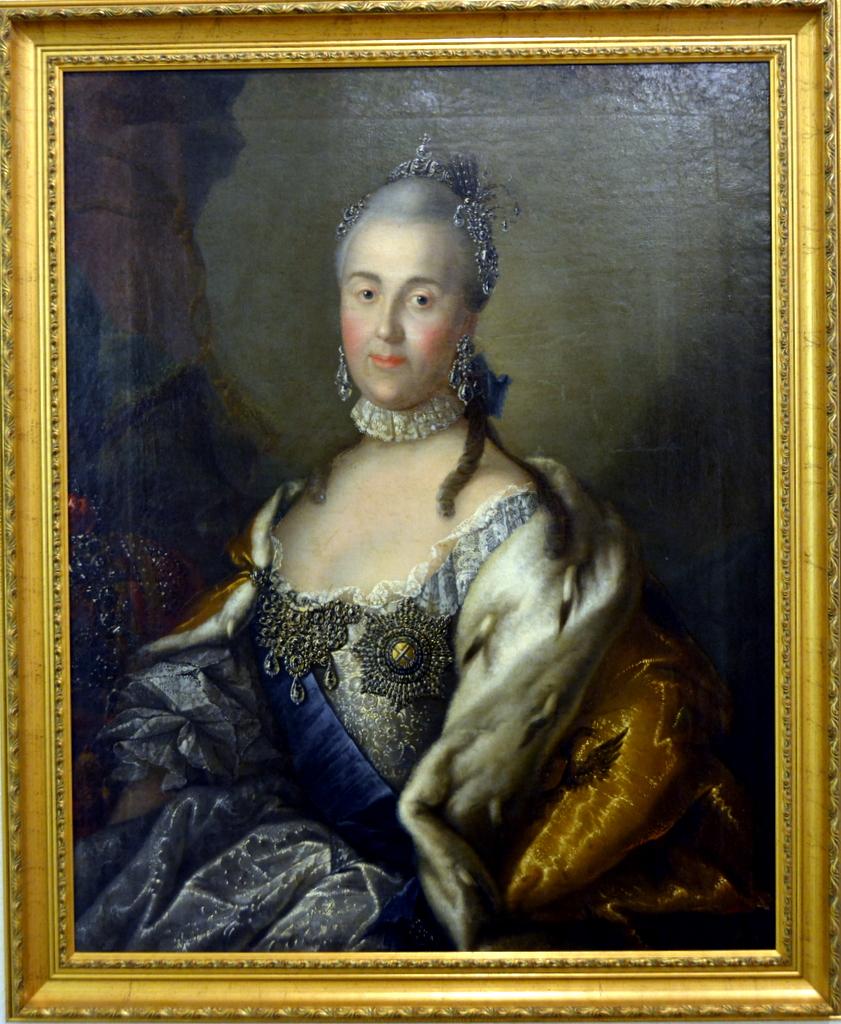 Екатерина 2 в образе афины левицкий