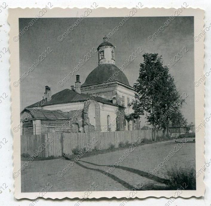подписанные старые фото рославльского уезда этой