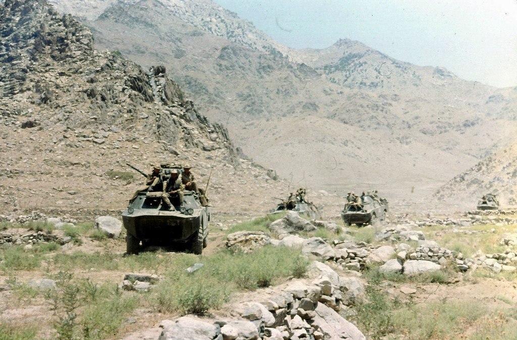 цветные фото советских войск в афганистане значительно снижает