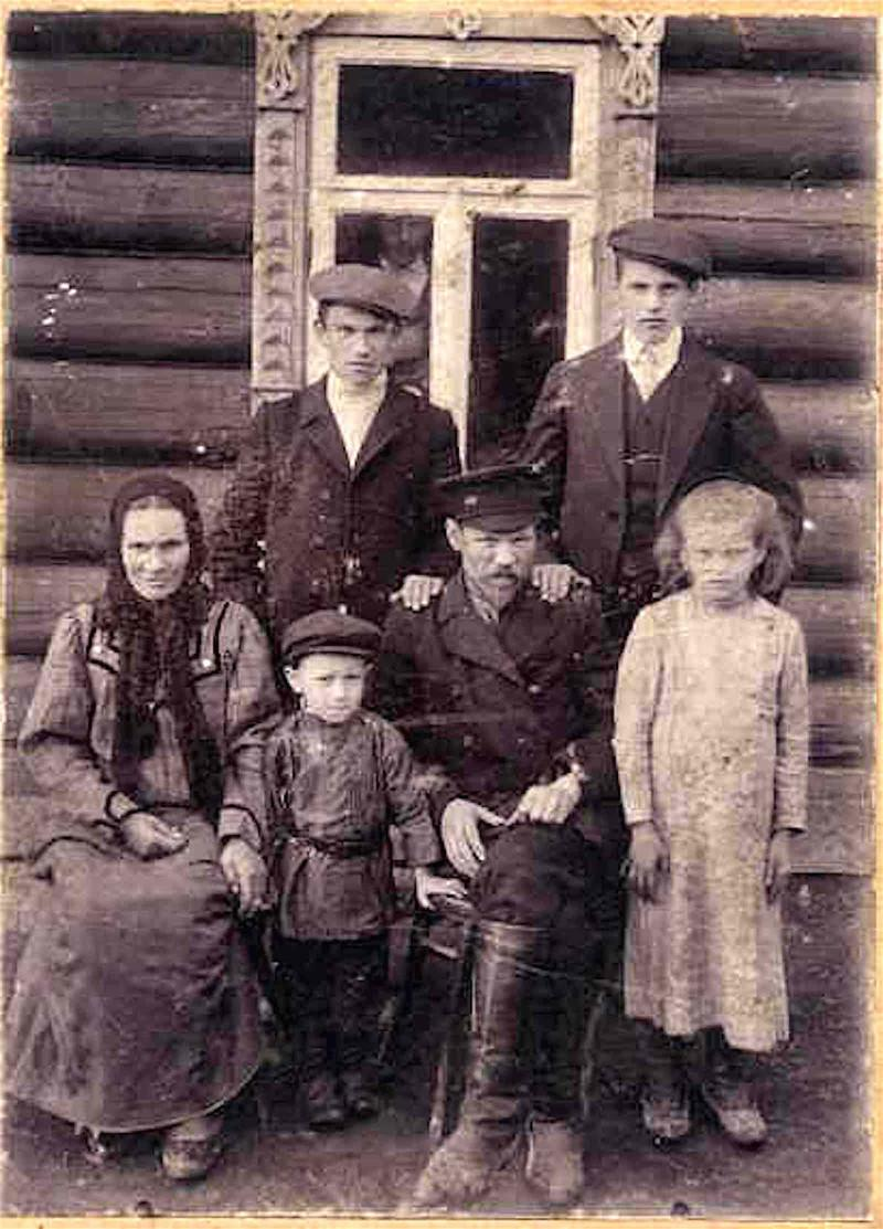 Дореволюционные фото людей рязанской губернии
