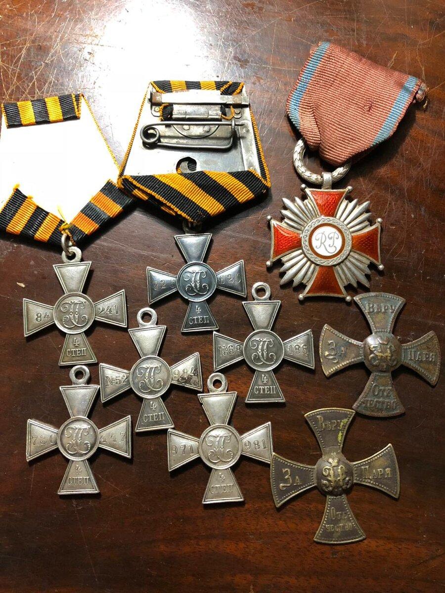 Георгиевский крест фото описание награды