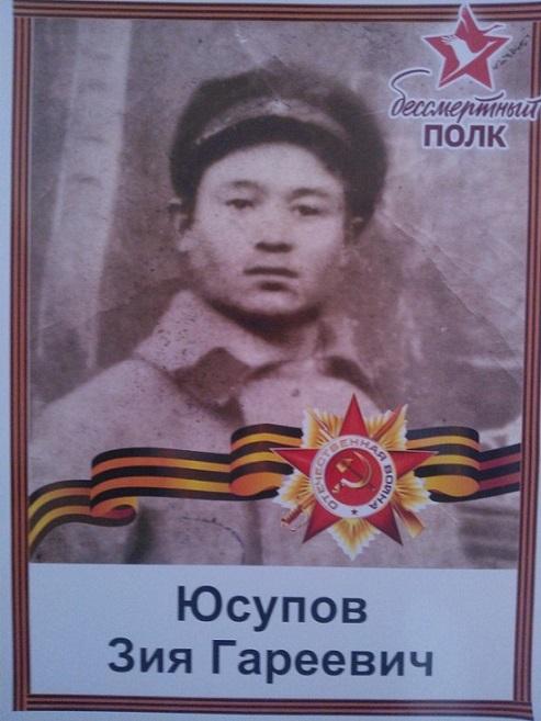 Юсупов Зыя Гареевич